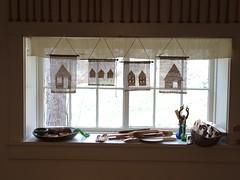 little houses - rigid heddle