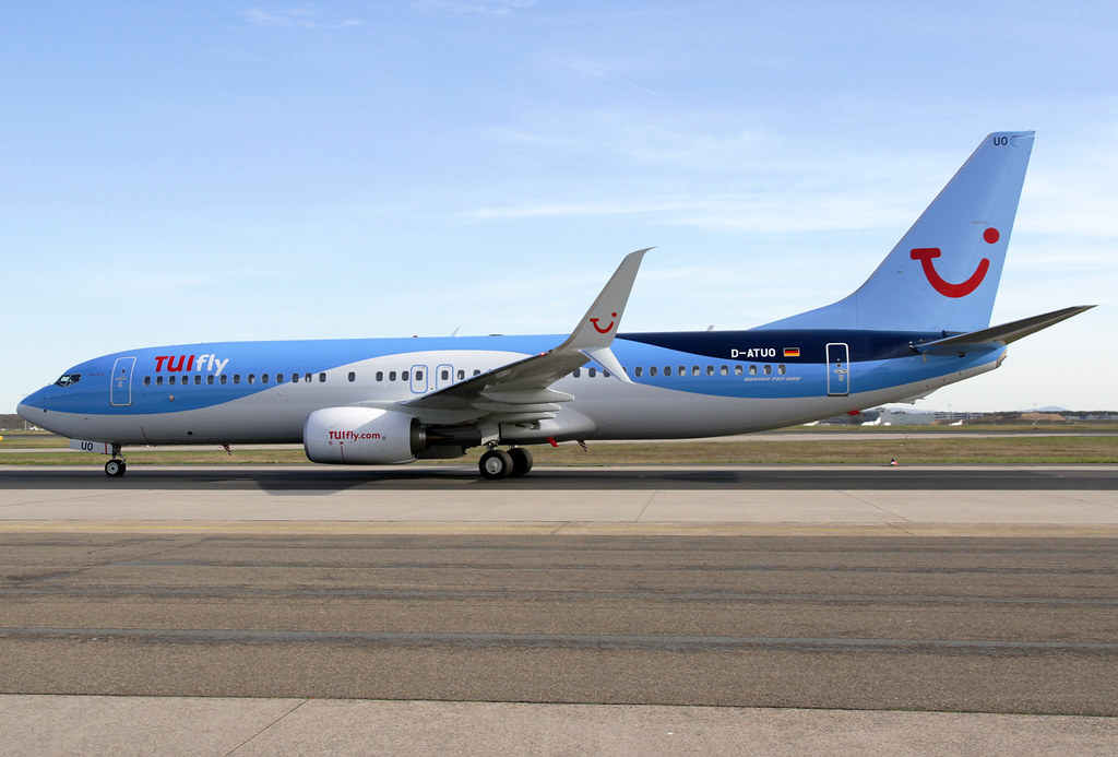 D-ATUO - B738 - TUI fly