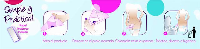 Instrucciones de uso de PIPS woman