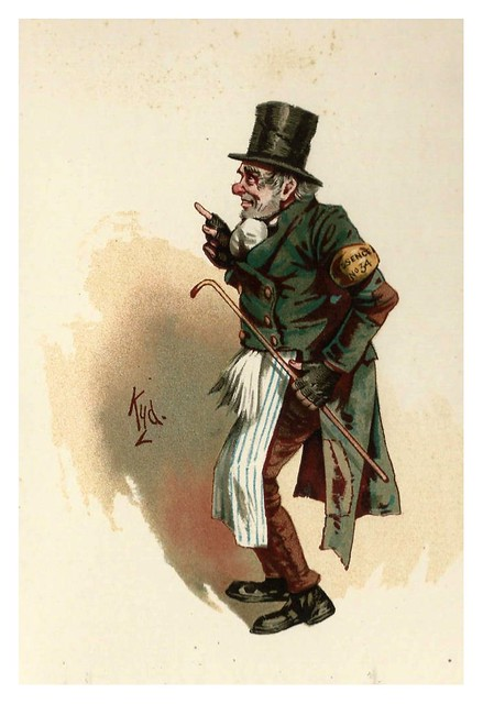 018-Trotty Veck-Character Sketches from Charles Dickens…1889- J. Clayton Clarke- The Victorian Web