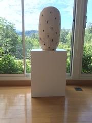 Jun Kaneko's White Laminate Pedestal