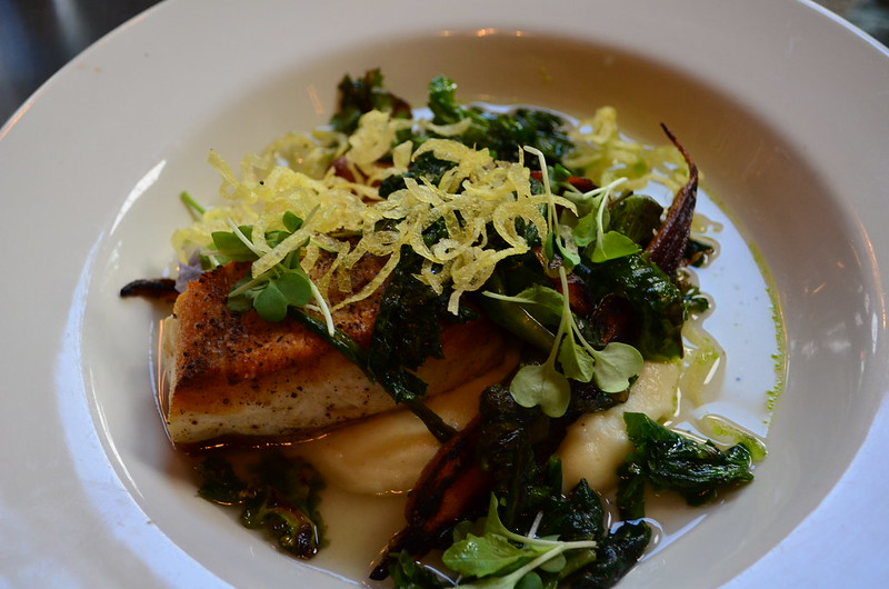 Halibut with Ramps