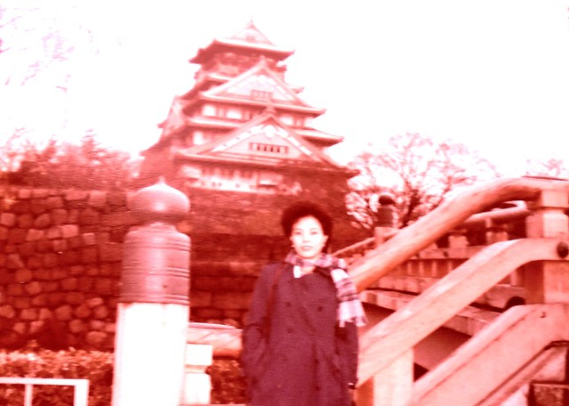 Missus at Osaka Castle