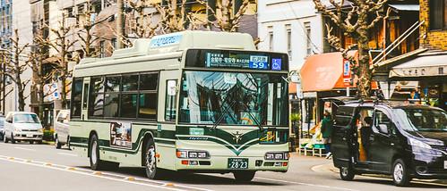 HINO Blue Ribbon City Hybrid_LNG-HU8JMGP_Kyoto_日野 ブルーリボン シティ ハイブリッド_京都_1