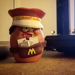 Mail call Mcnugget buddy #fleamarketfinds #toyhustle #ToyHunting #ToyGameTedDiBase #TomKhayos #toysagram #ToyFinds #RagingNerdgasm #Mail #usps #McDonalds #happymeal #80s #retro #ToyGameScroogeMcDuck #vintage