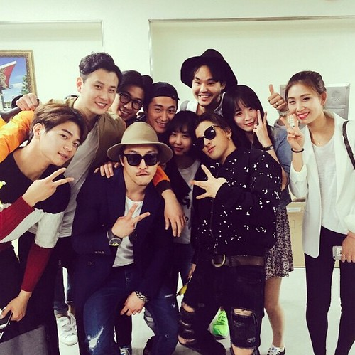 Backstage and send-off BIGBANG Day 1 2015-04-25 Seoul 033
