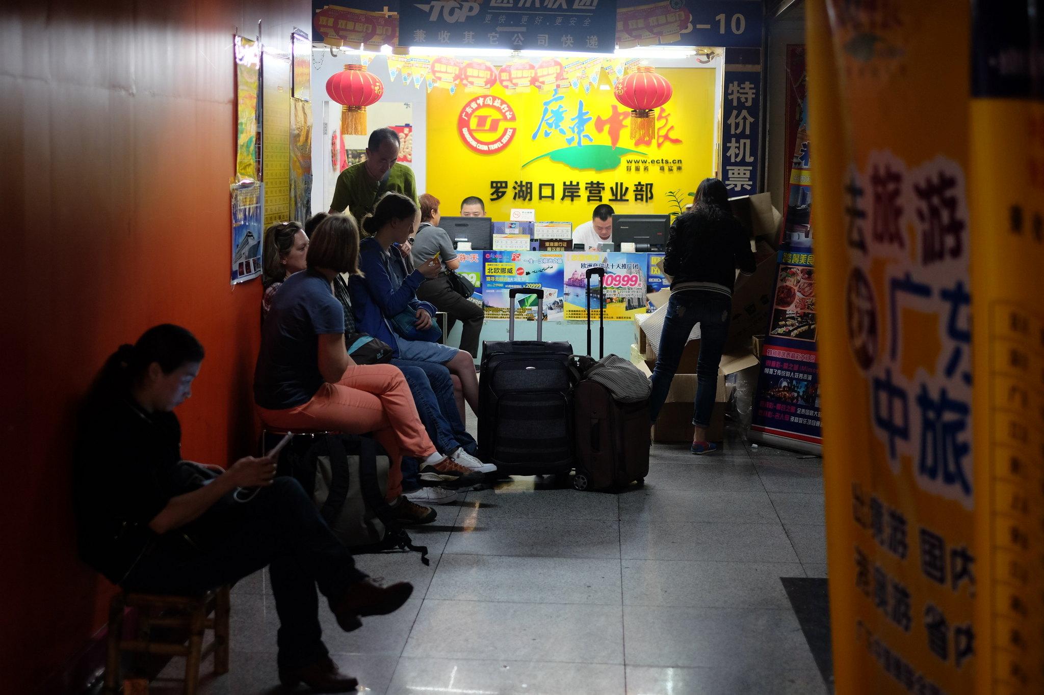 Busreise nach Yangshuo
