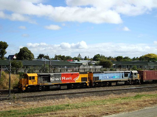 locomotive emd diesellocomotive nzr kiwirail dftclass dft7199 dft7335 emdgt22mc gt22mc