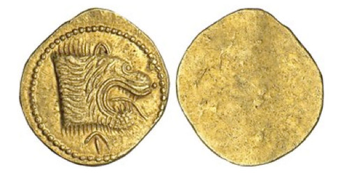 etruscans gold 50 asses