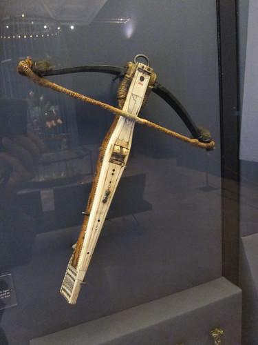 Ivory crossbow