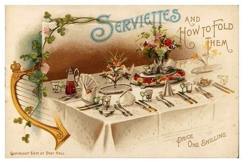 001-Serviettes and how to fold them-1890-Robinson and Cleaver- The Metropolitan Museum of Art