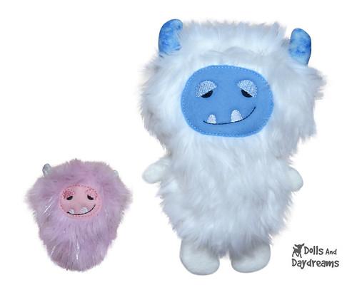 Yeti ITH Stuffie Pattern