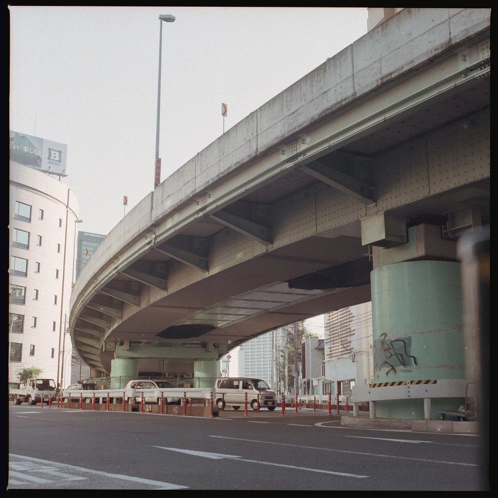 首都高速中央環状線 松濤二丁目