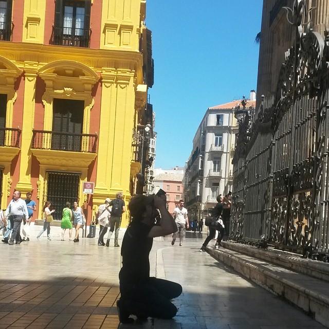 valokuvaaja, Malaga, Espanja