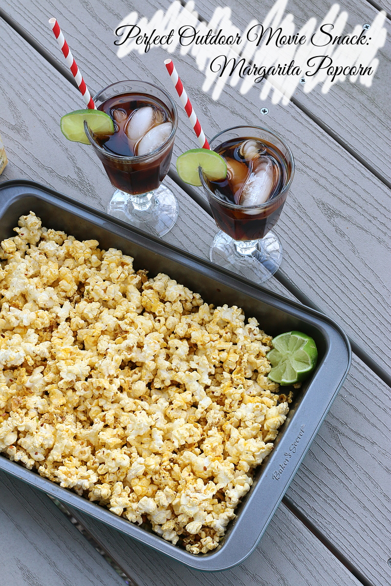 Margarita Popcorn recipe, shop