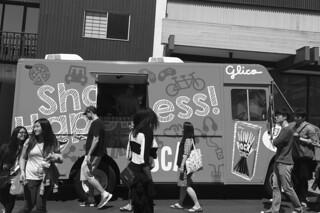 Cherry Blossom Festival - Pocky truck
