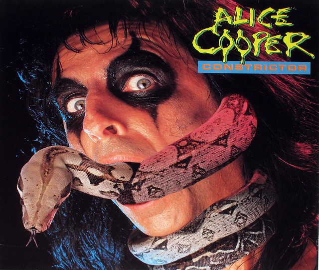 "ALICE COOPER CONSTRICTOR 12"" LP"