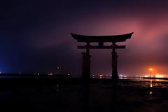 Itsukushima Shirne Night