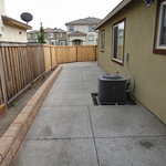New Patio And Split Face Block Wall Planter In Vacaville