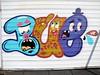 street art safari Ghent 16-04-2015 - Buë the Warrior