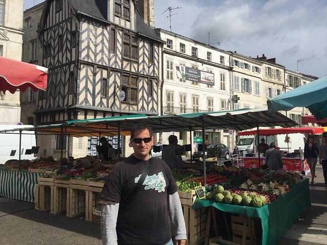 Sele en La Rochelle (Poitou-Charentes, Francia)