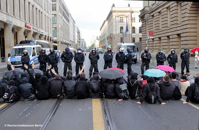 17.06.2016 Identitärer Aufmarsch in Berlin