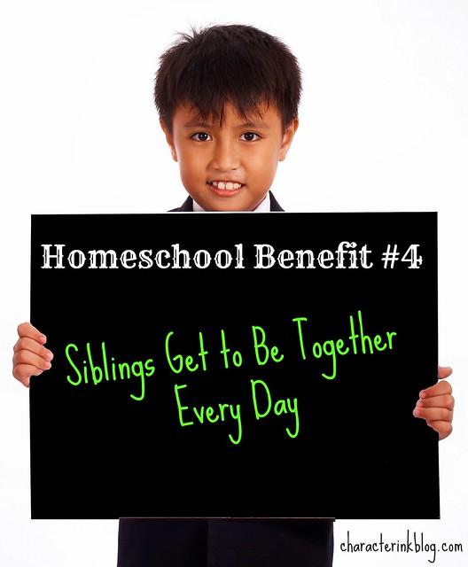 Homeschool Benefit #4
