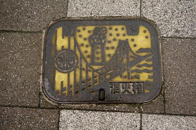 Manhole in Akashi, Hyogo