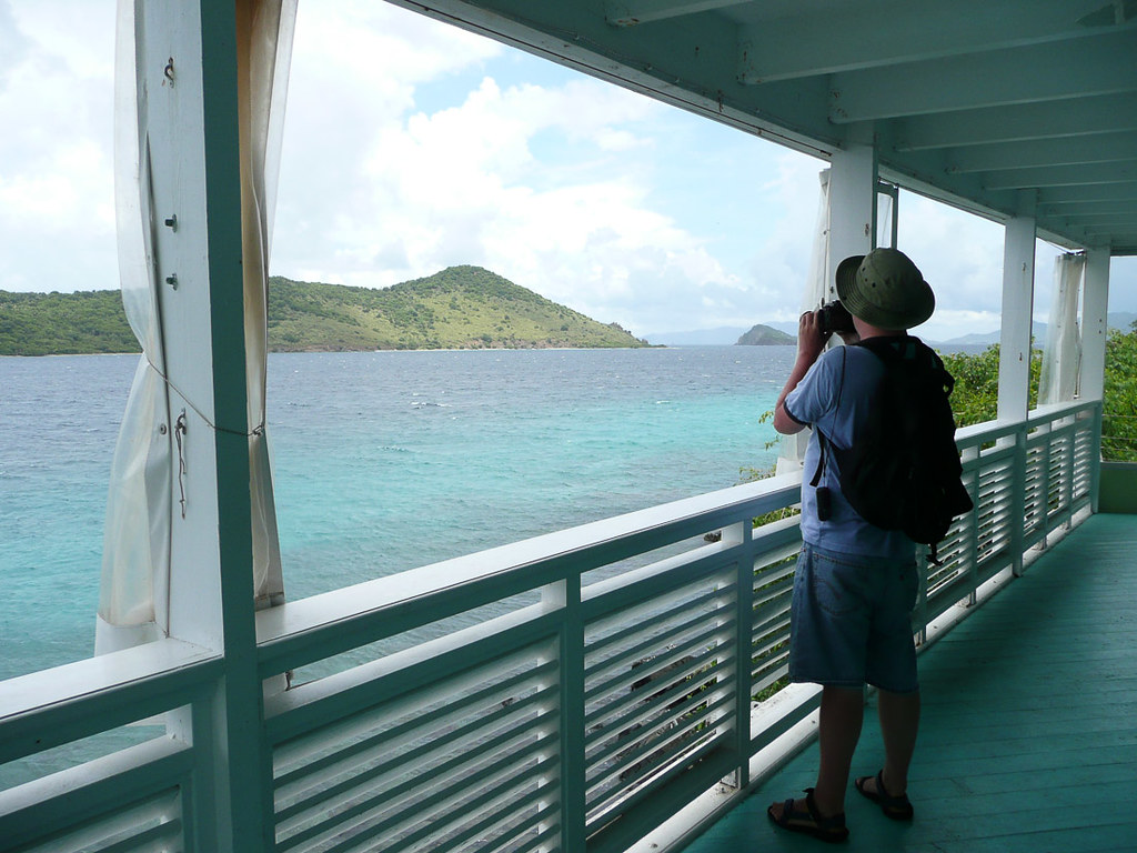 Covered Pavilion at Coral World | Views of St. Thomas