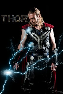 Thor cosplay Age of Ultron ThorTV movie poster