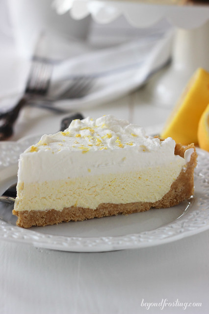 No-Bake Lemon Cheesecake Ice Cream Pie.