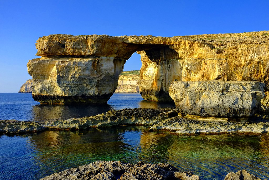 The Azure Window, Gozo, Republic of Malta