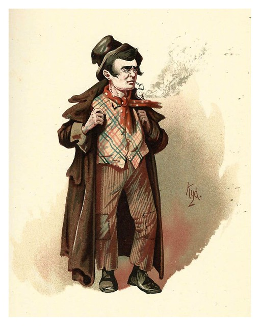 017-The Artful Dodger-Character Sketches from Charles Dickens…1889- J. Clayton Clarke- The Victorian Web