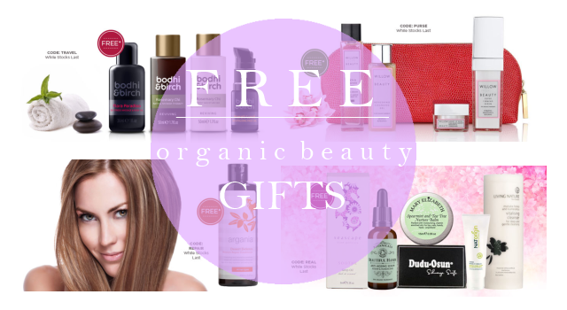 Weekly Discounts and Free Organic Beauty Gifts #16