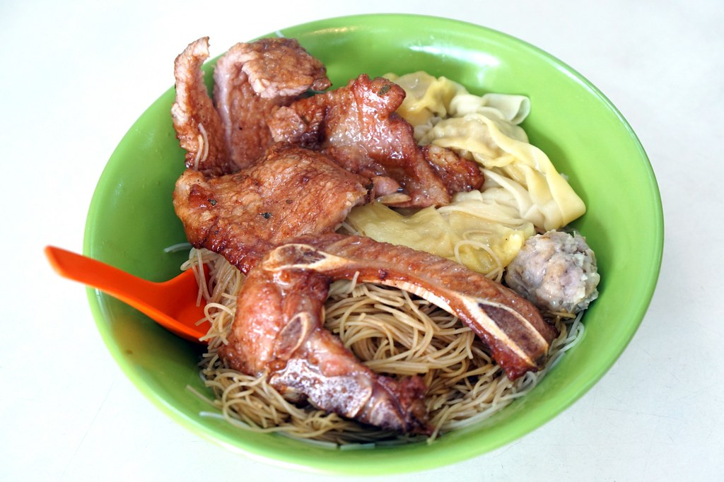 pork chop noodles - Macau