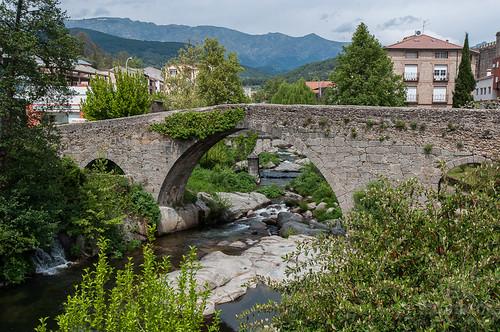 El Puente Medieval de Arenas de San Pedro, el Puente Aquelcabos