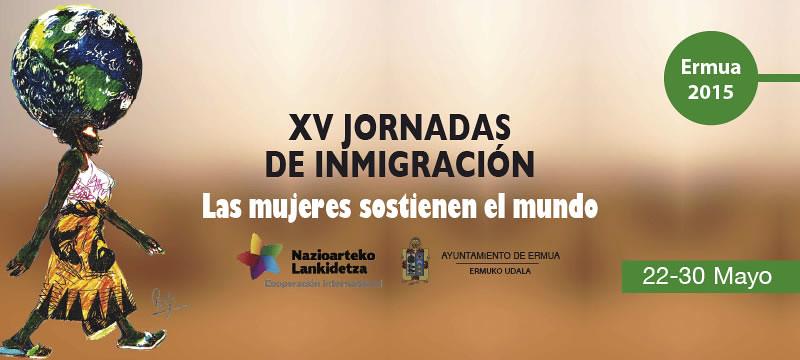 Cartel anunciador de la XV edici�n de las Jornadas de Inmigraci�n