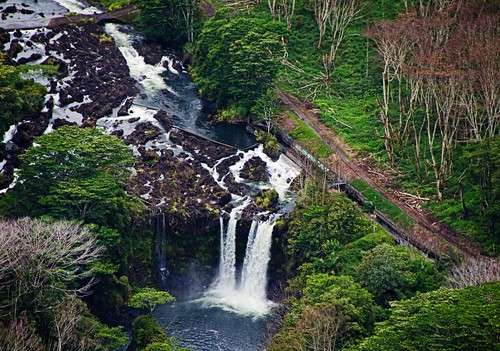 usa beautiful hawaii colorful scenic bigisland hilo wailukuriver nikond7000 pe'epe'efalls