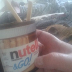 Nutella & Go #ferrero #Hazelnut #breadsticks