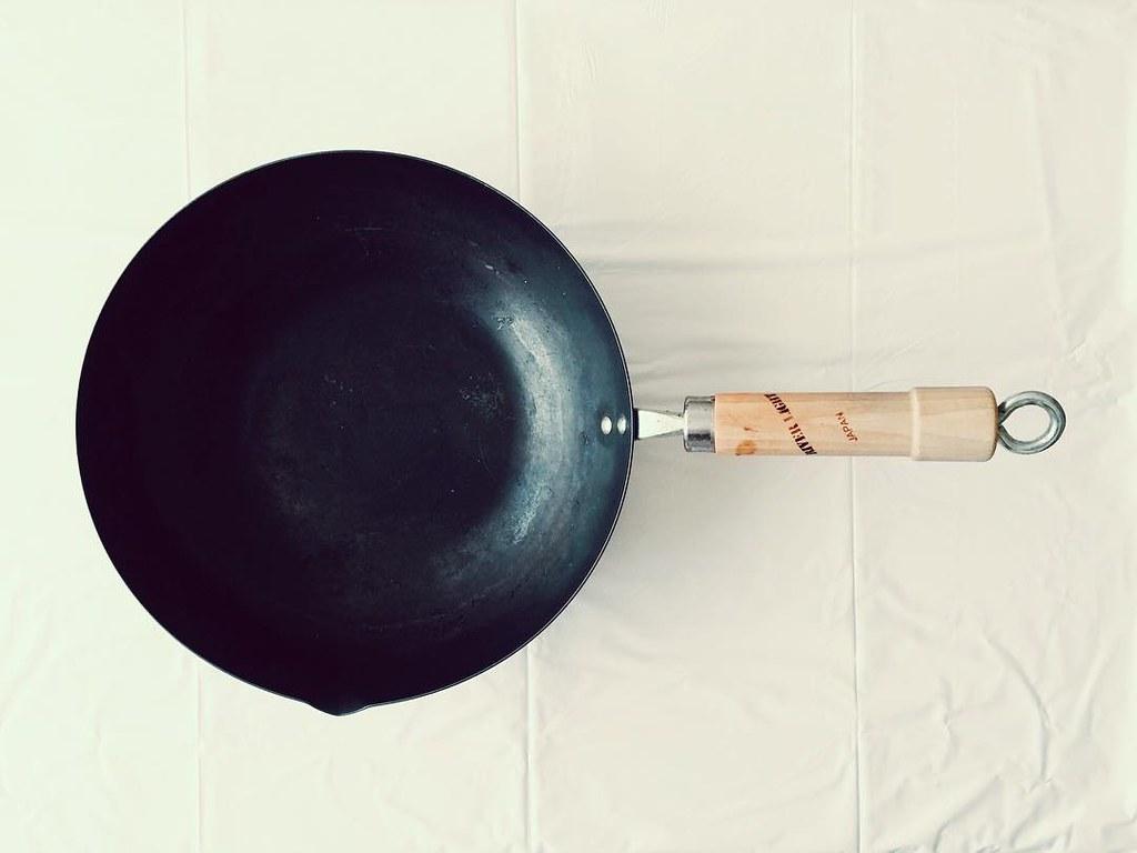 リバーライトの鉄の炒め鍋