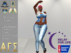 AGS INC Exclusive Womens BlueSun With Appliers