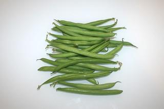 11 - Zutat grüne Bohnen / Ingredient green beans