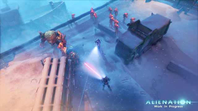 Alienation on PS4