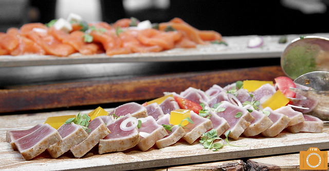 Circles sashimi