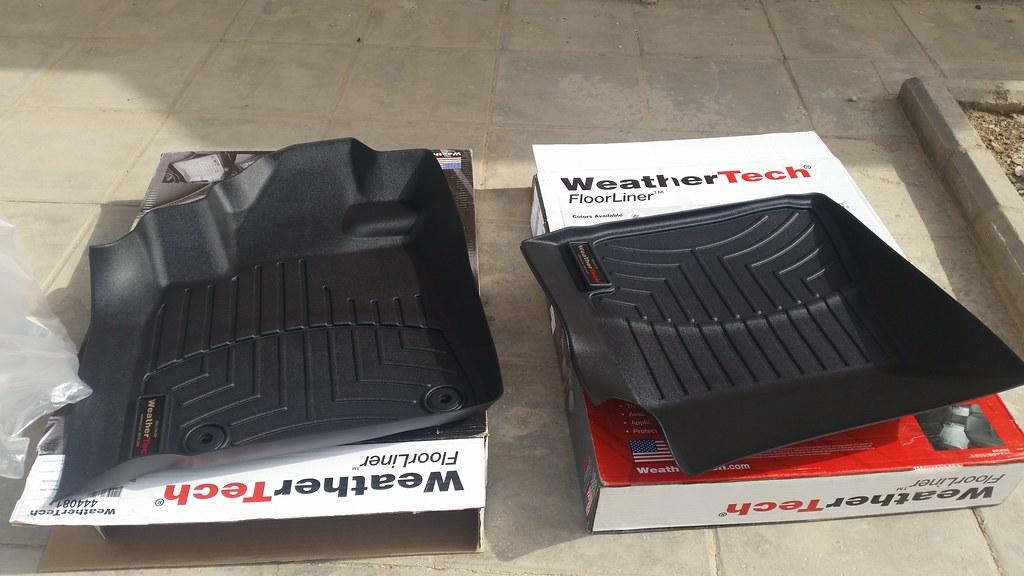 تجربتي لدعاسات الأرضية من شركة WeatherTech الأمريكية
