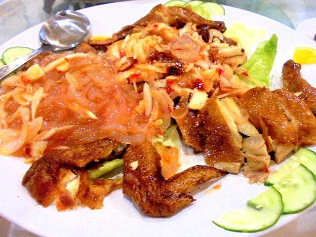 Sheraton Thai-style chicken