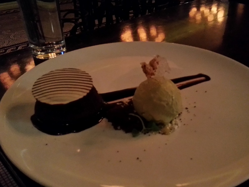 La Societe Dark Chocolate Fondant Cake