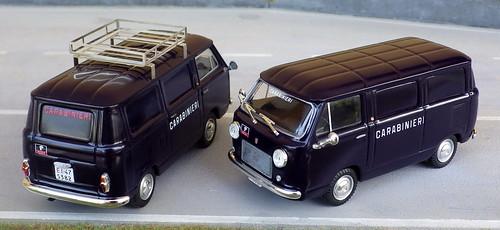 Autoparco Aldo Serini Fiat 600 T Carabinieri R