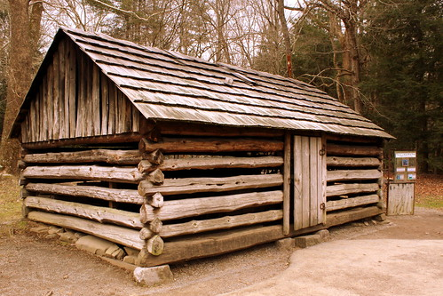 Cades Cove replica Blacksmith Shop