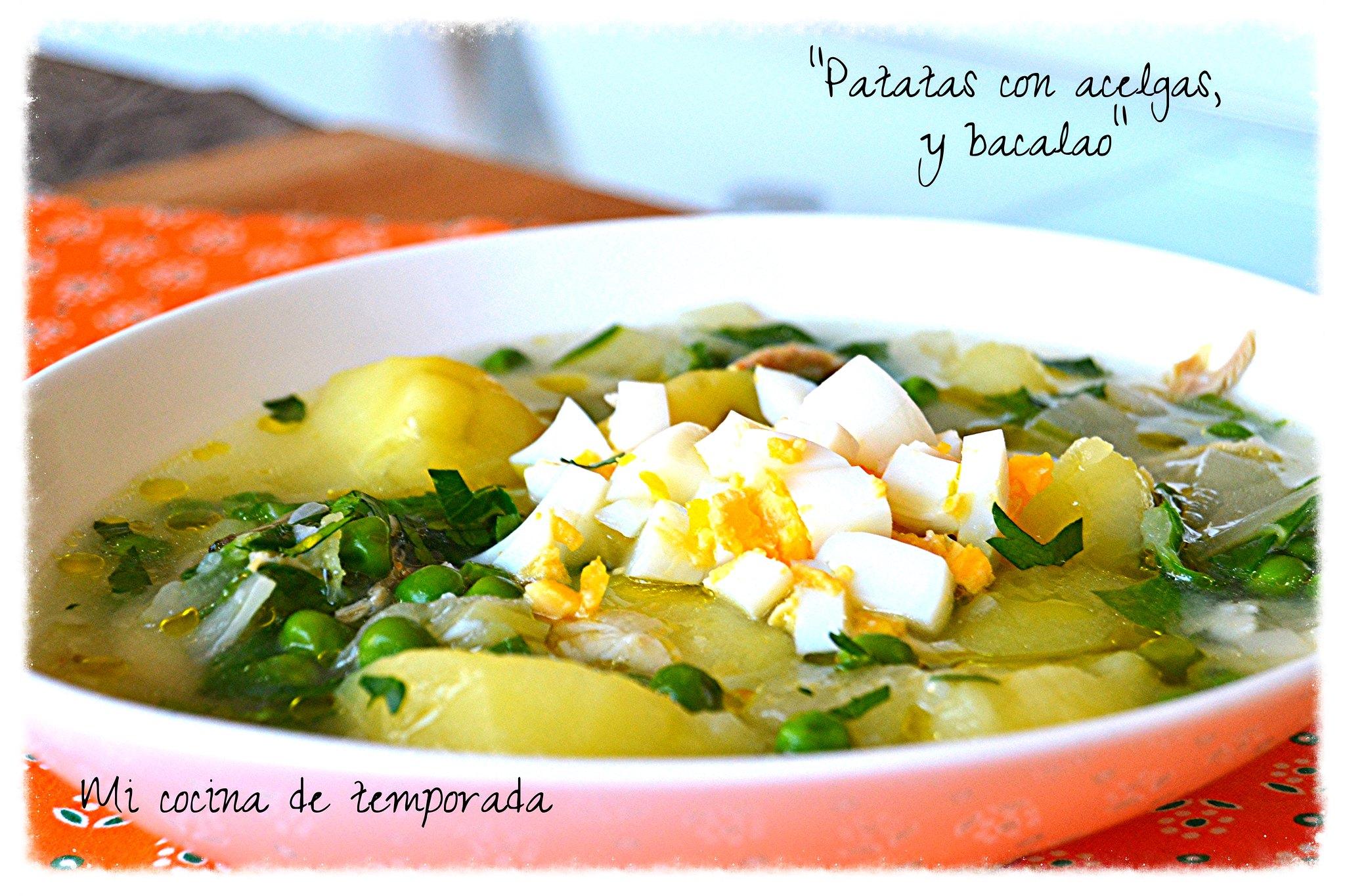 Patatas con acelgas 024